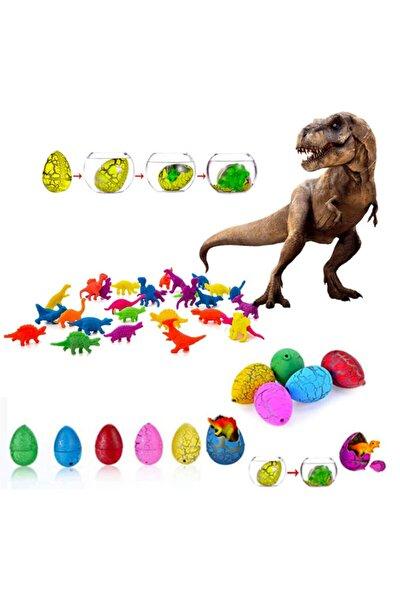 Suda Büyüyen Dinazor Yumurtası Küçük ( Su Maymuncuğu) Dinozor Yumurtası - 6 Adet