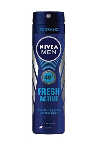 Nıvea Deo Sprey 150 ml Fresh Active Erkek