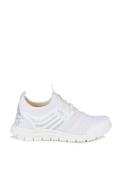 Aqua Unisex Çocuk Beyaz Spor Ayakkabı
