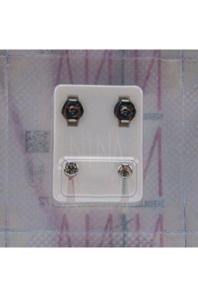 Steril Kulak Delme Küpesi 1 Çift Nina Cerrahi Çelik Küpe Günlük Kullanıma Uygun