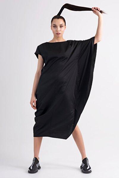 Siyah Elbise 7236