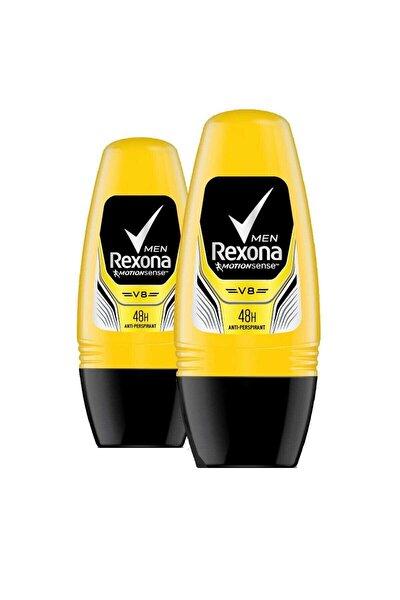 Erkek Deodorant Roll On V8 - 50 ml X 2 Adet