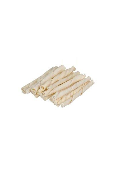 Sütlü Burgu Çubuk Ödül Ve Çiğneti Kemiği 12 Cm 12 Li