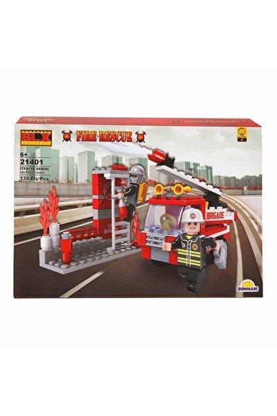 Fire Rescue Yangın Söndürme Ekibi Kamyonu 21401