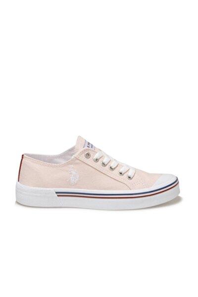 Pembe Keten Günlük Sneaker Polo Penelope 1fx