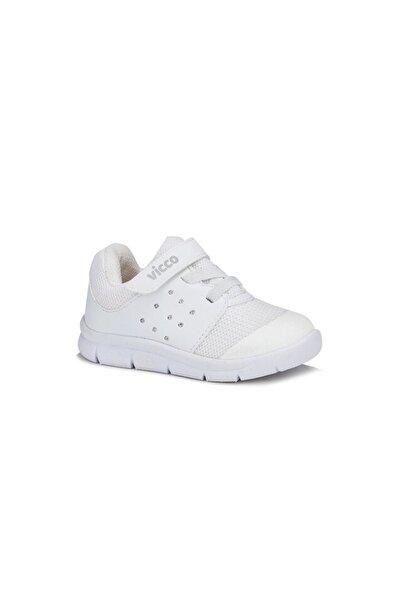 Unisex Çocuk Beyaz Mario Spor Ayakkabı 20y.200