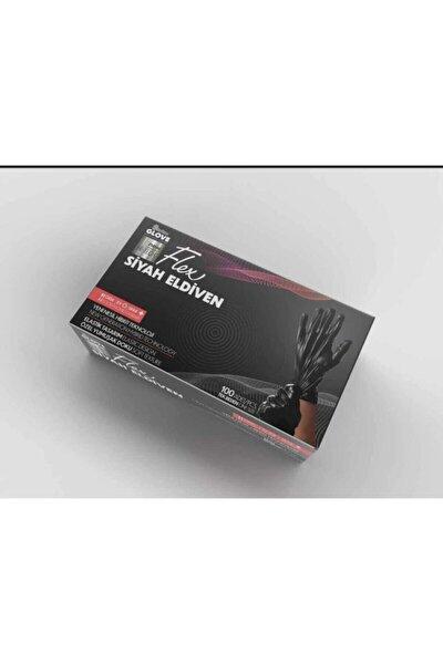 Flex Glove Pudrasız 100 Lü Siyah / L- Xl Beden