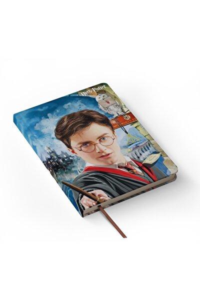 Harry Potter Tasarımlı Ciltli Defter