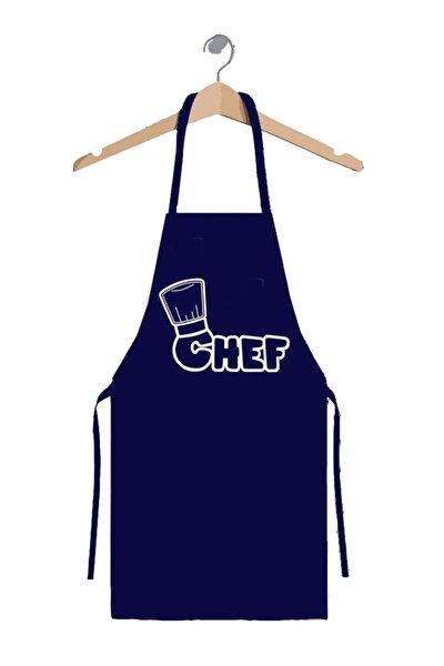 Lacivert Master Chef Mutfak Önlüğü 70*90