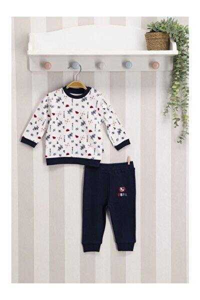 U.s. Polo Assn Lisanslı Bebek Uzun Kol 2'li Takım Usb117