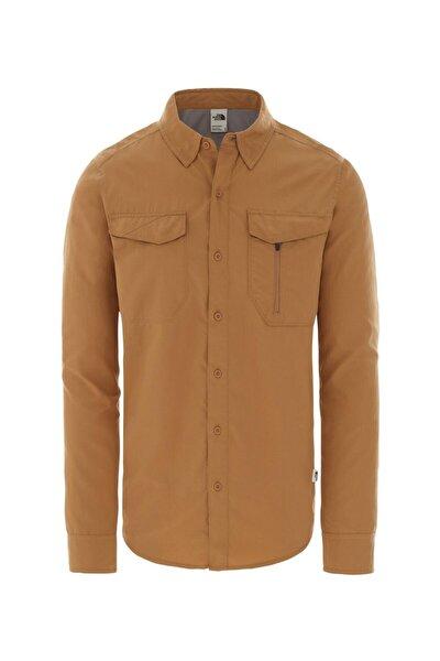 L/s Sequoıa Uzun Kollu Erkek Gömlek Kahverengi