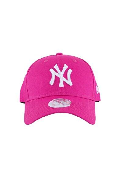 Kadın Şapka - Fashion Essential 9forty New York Yankees Pink/optic White