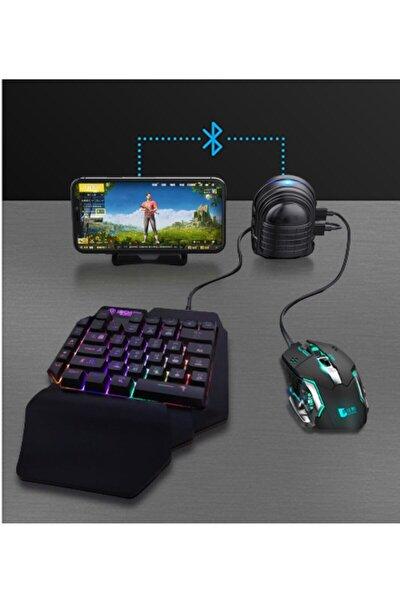 Mıx 3 - Pubg Oyun Konsolu Klavye Mouse Bağlayıcı 3in1 - Mousepad Hediyeli
