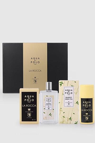 La Rocca Kadın Hediye Seti Parfüm, Kolonya,deodorant Stcn000301