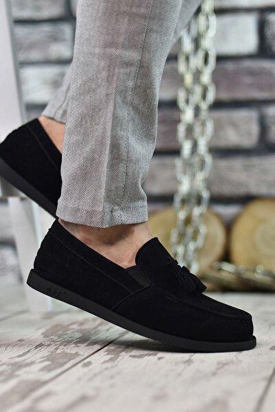 Siyah Süet Erkek Casual Ayakkabı