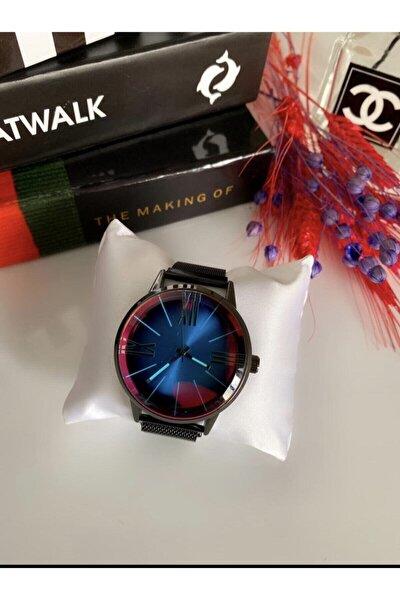 Bay & Bayan Çelik Renkli Ekran Model Kol Saati