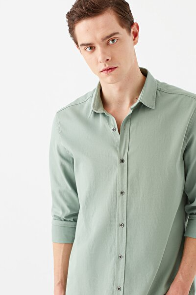 Erkek Yeşil Gömlek 021774-33501