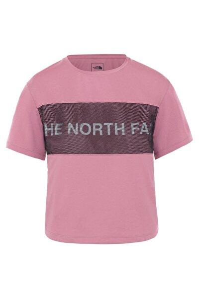 Train N Logo Kadın Tişört Pembe