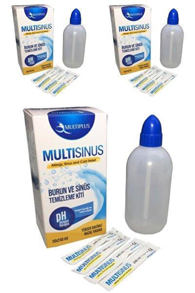 Multi Sinüs Rinse Burun Ve Sinüs Temizleme Kiti - 3'lü Paket