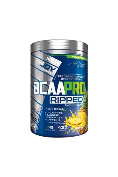 Bigjoy Sports Bcaapro Ripped Bcaa L-Carnitine  Taurine Caffeine Amino Asit  Ananas Aroma 432g