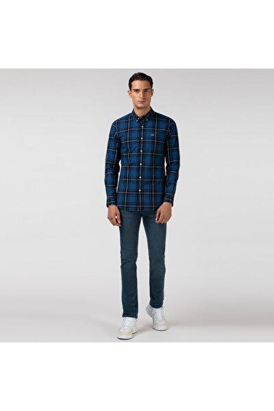 Erkek Slim Fit Mavi Pantolon