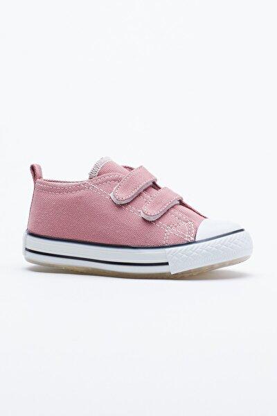 Mor Çocuk Spor Ayakkabı Cırtlı Tb997