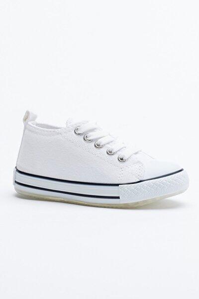 Beyaz Çocuk Spor Ayakkabı Tb998