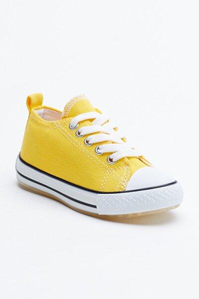 Sarı Çocuk Spor Ayakkabı Tb998