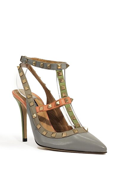 Hakiki Deri Klasik Topuklu Ayakkabı Flw15y-a6259