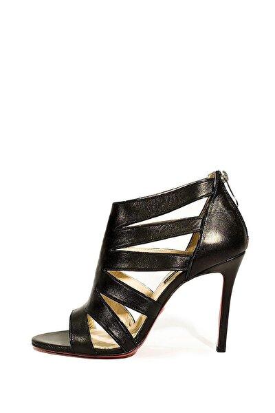 Hakiki Deri Klasik Topuklu Ayakkabı Flw14y-6603