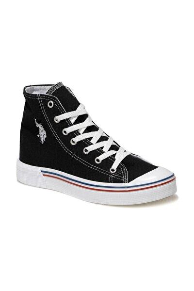 PENELOPE HIGH 1FX Siyah Kadın Havuz Taban Sneaker 100910634