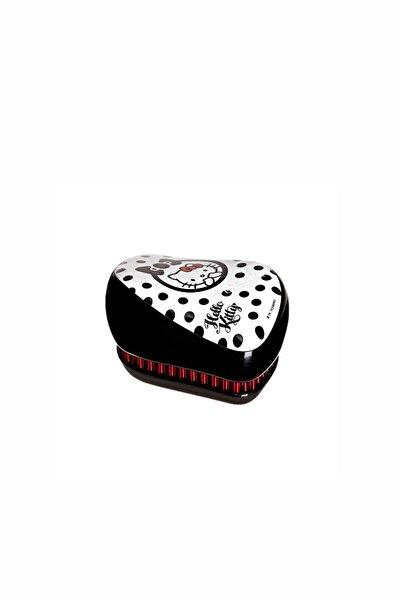 Compact Styler Açıcı Tarak Hello Kitty Siyah-beyaz