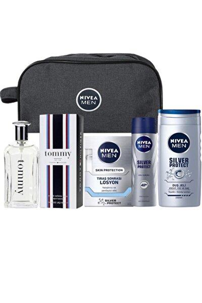 Edt 100 Ml Erkek Parfümü + Çanta Hediyeli Erkek Bakım Seti