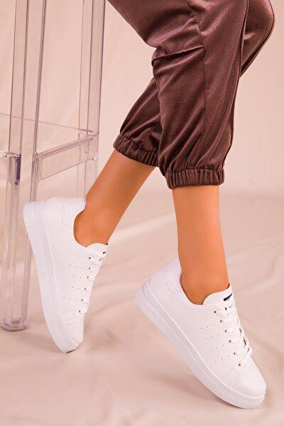 Beyaz Kadın Sneaker 14739