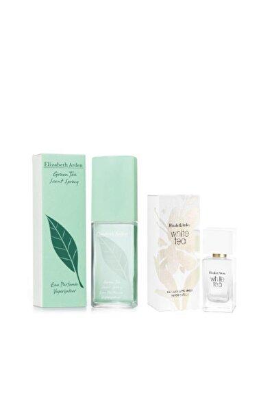Green Tea Scent Edt 100 ml Kadın Parfüm White Tea Edt 30 ml Kadın Parfüm