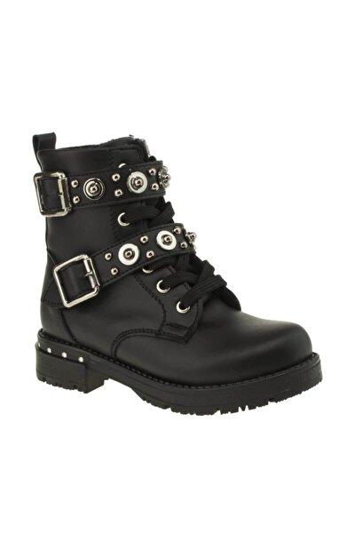 954.18k.444 Siyah Çocuk (26-36) Kışlık Ayakkabı Bot