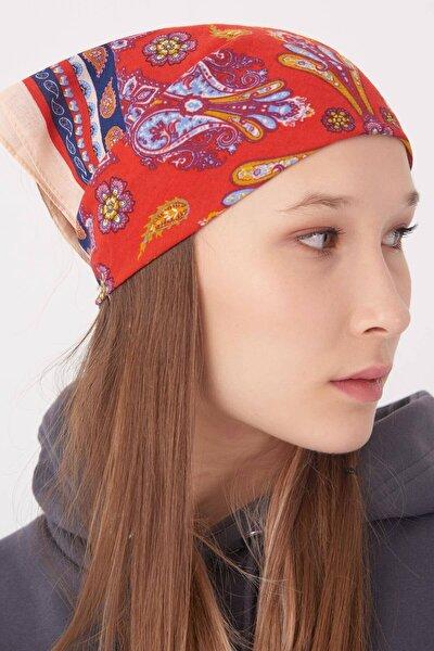 Kadın Renkli Desenli Fular Flr03 - E3 Adx-0000023356