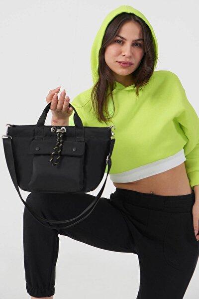 Kadın Siyah Askılı Çanta Ç506 - F9 Adx-0000023734