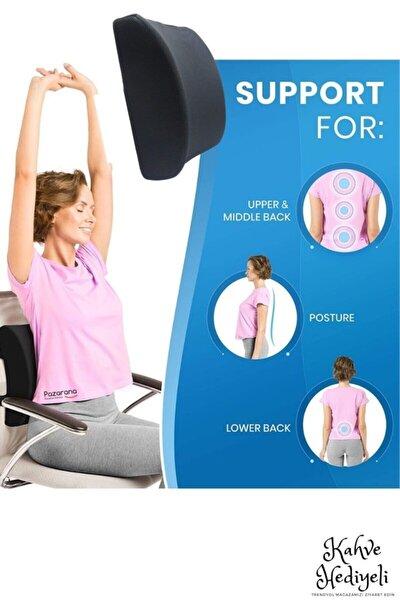 Ortopedik Koltuk Minderi Araç Sandalye Bel Sırt Desteği Yastığı