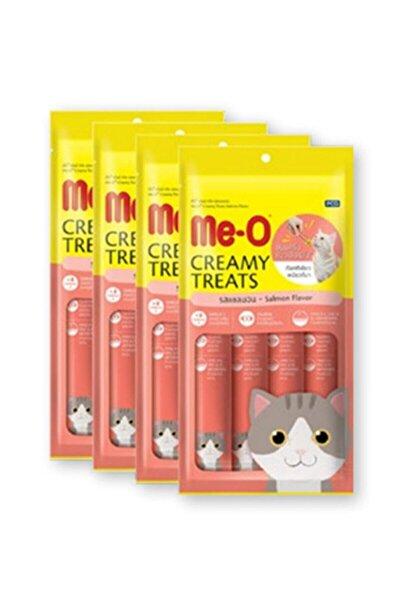 Creamy Treats Somonlu Kedi Kreması Ödülü 60gr X 4 Paket Eksprespet