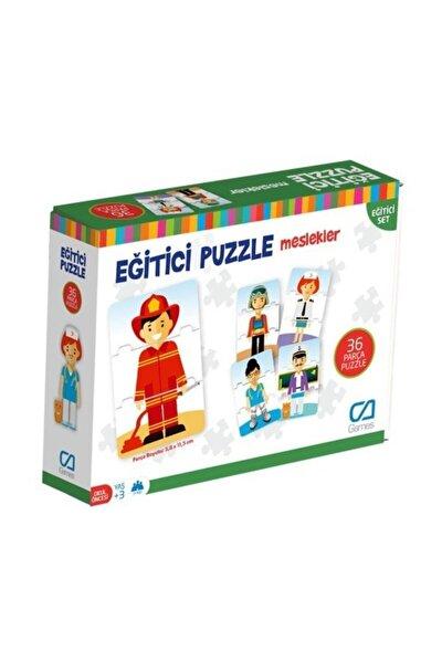 Meslekler - Eğitici Puzzle - Null