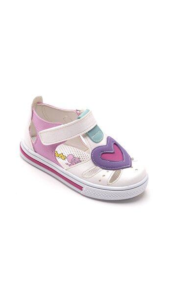 Kız Bebek Beyaz Ortopedik Sandalet