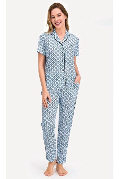 Pierrecardin 7709 Bayan Gömlek Pijama Takımı