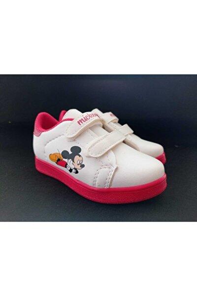 Çocuk Kırmızı Mickey Spor Ayakkabı