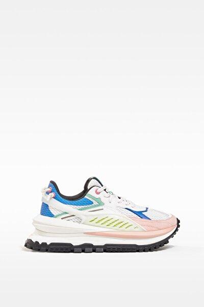 Kadın Çok Renkli Teknik Spor Ayakkabı - Limited Edition