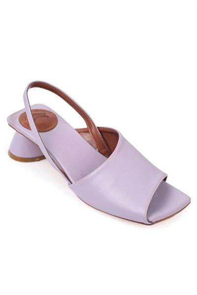 Lila  Kadın Japon Burun Tek Bant Sandalet