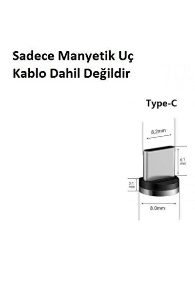 Manyetik Şarj Kablosu Ucu Type-c
