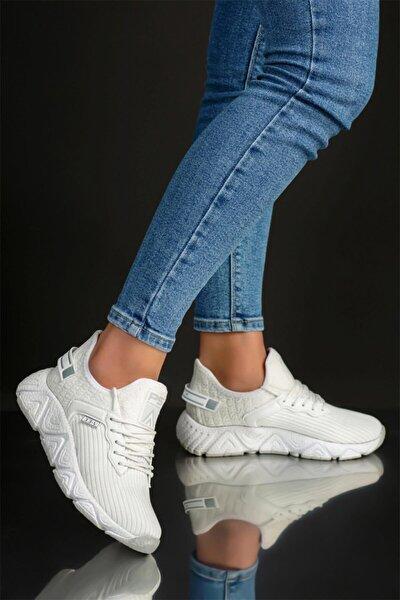 Hafif Bağsız Unisex Spor Yürüyüş Sneaker Ayakkabı
