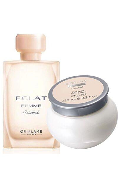 Eclat Femme Weekend Edt 50 Ml Kadın Parfüm Ve Vücut Krem Seti
