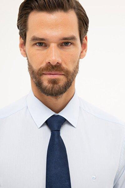 Erkek Açık Mavi Slim Fit Basic Gömlek G021gl004.000.1179498